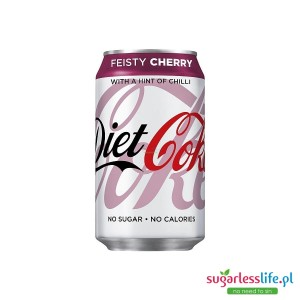 Diet Coke Feisty Cherry 330ml Puszka