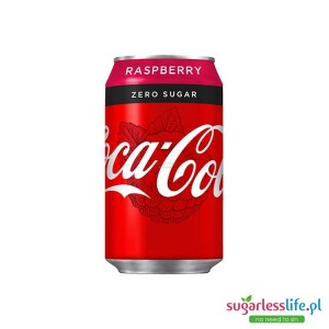 Coca Cola Raspberry Zero  330ml Puszka