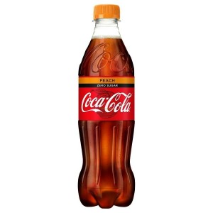 Coca Cola Peach Zero 500ml