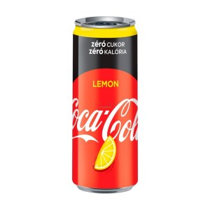 Coca Cola Lemon Zero 330ml