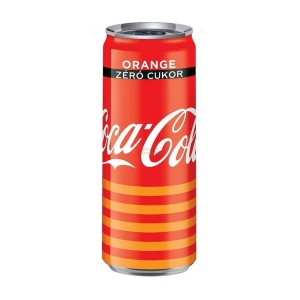 Coca Cola Orange Zero 24x330ml Zgrzewka