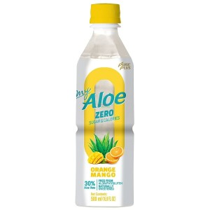 Pure Plus Aloe Vera Sugarfree Mango-Pomarańcza 500ml